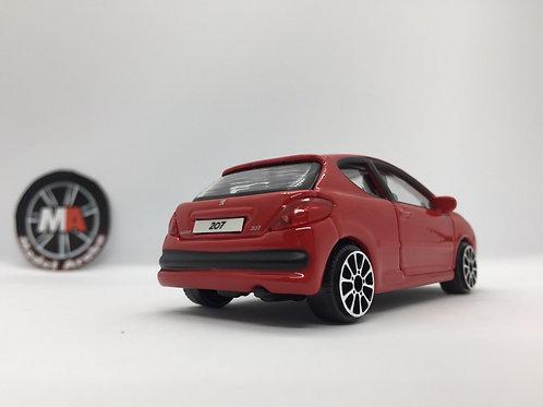 1/43 ölçek Peugeot 207 metal