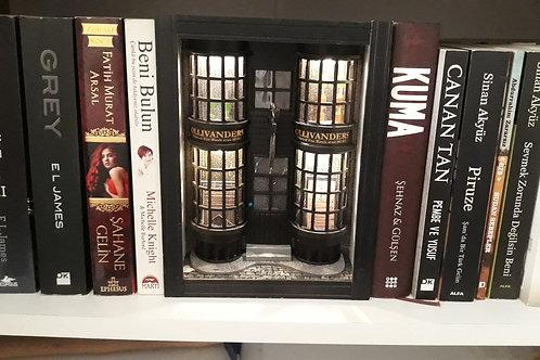 Harry Potter Ollivander's Kitap Arası & Maket