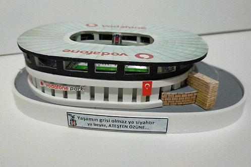 Beşiktaş Vodafone Park Stadyum maketi