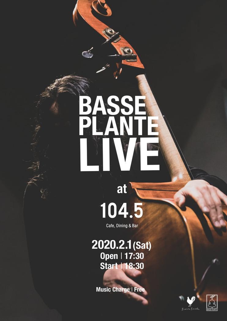 2020.2.1.sat|LIVE@Cafe,Dining&Bar 104.5
