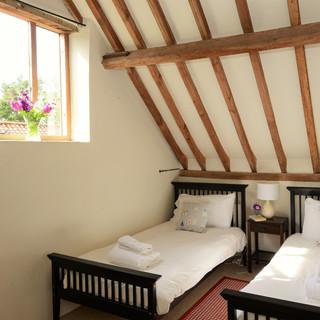 Hall Barn twin bedroom