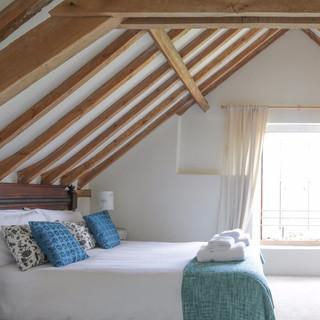 Hall Barn master bedroom
