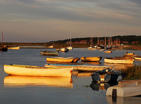Morston at sunset