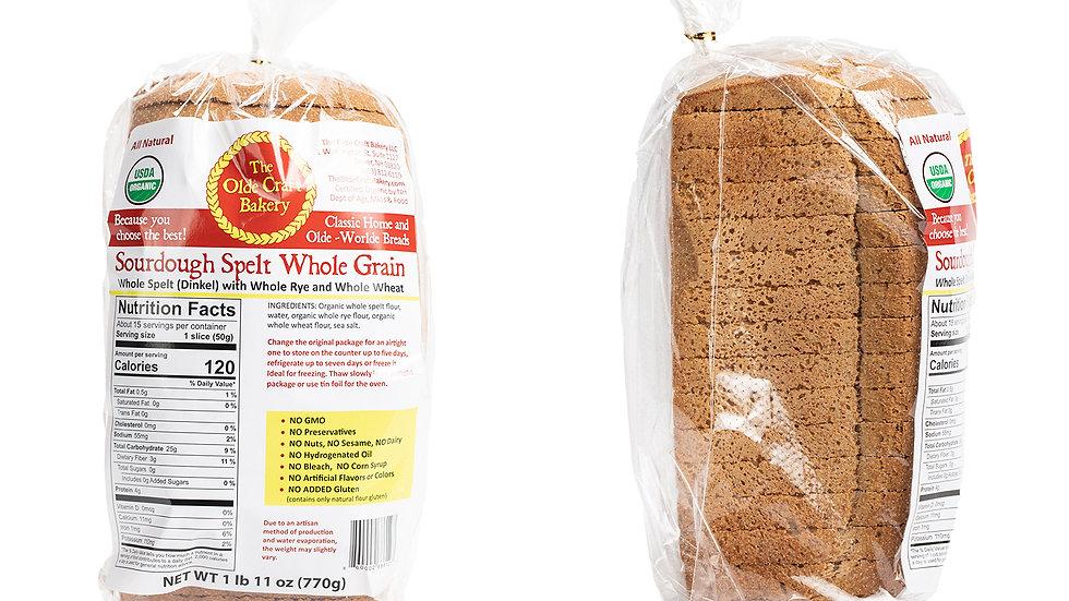 Sourdough Spelt Whole Grain