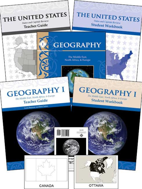 Geography I: Middle East, North Africa, and Europe Set
