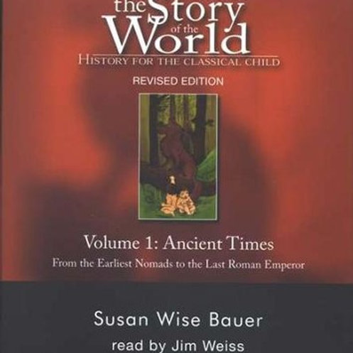 Story of the World History audio CDs Volume 1 (2020 Revised Edition)