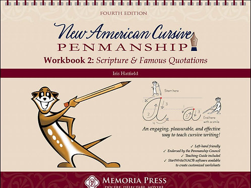 Memoria New American Cursive 2- Scripture