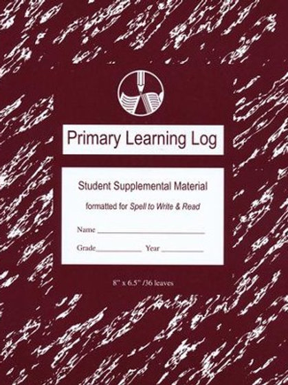 SWR Maroon Primary Learning Log