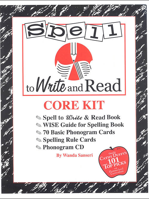 Spell to Write and Read Core Curriculum Kit