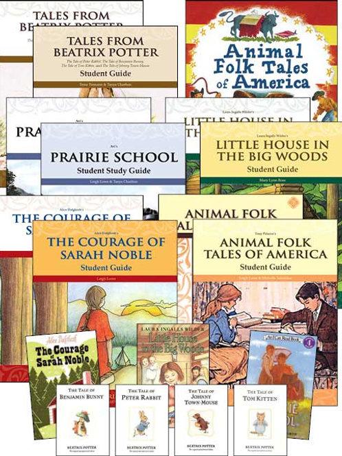 Memoria Second Grade Literature Guide Set with Novels