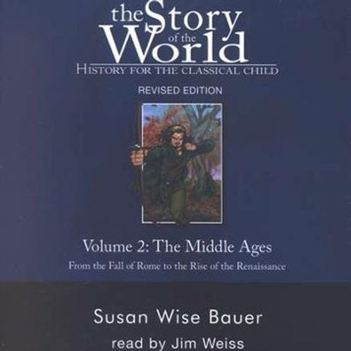 Story of the World History book audio cds, Volume 2 (2020 Revised Edition)