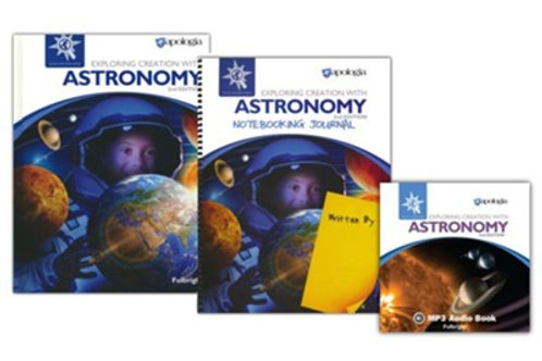 Apologia Advantage Set™ – Astronomy 2nd Edition with Regular Notebooking Journal