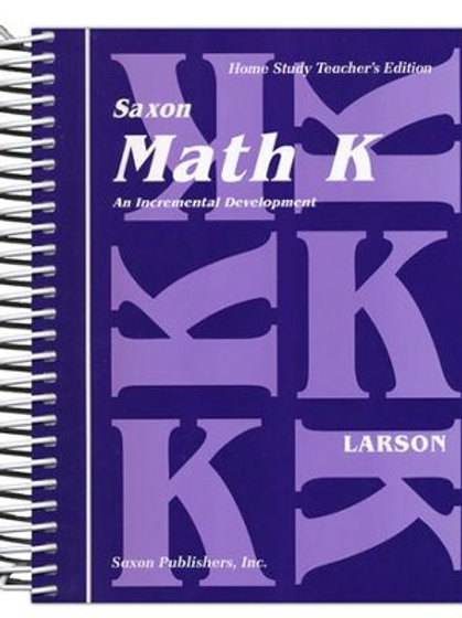 Saxon K Teacher's Guide, Meeting Book