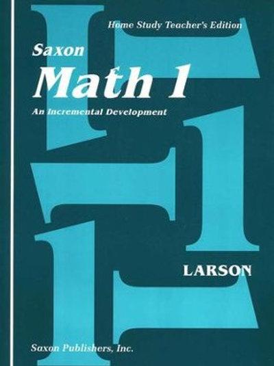 Saxon 1 Kit: Student Workbooks, Meeting Book, Teacher's Edition