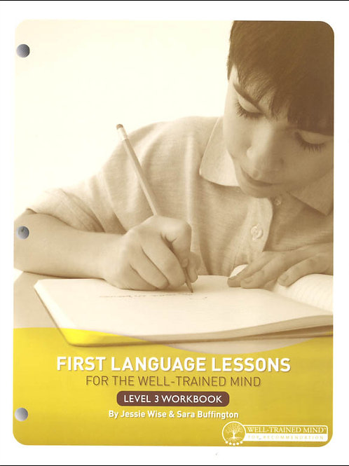 First Language Lessons Level 3 Workbook