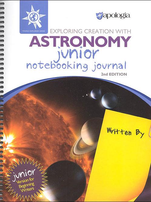 Apologia: Junior Astronomy journal