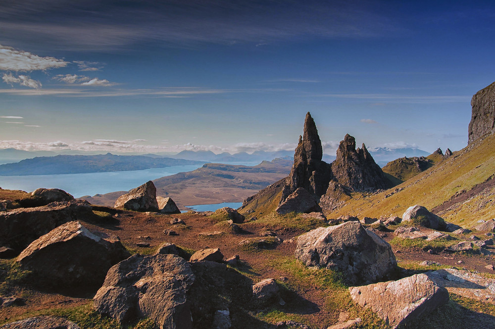 The Old Man of Storr in the Isle of Skye