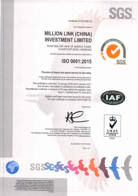 ISO 9001-2015 Certificate English versio