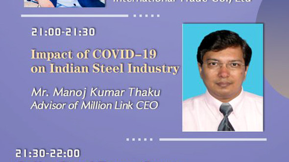 Online Conference - Impact of Covid-19 on Indian Steel Industry