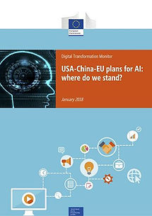European Comission: USA-China-EU plans for AI: where do we stand? - 8 pages