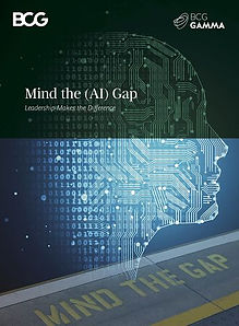 BCG Gamma: Mind the AI Gap - 20 pages