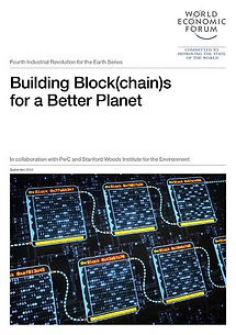 WEF, PwC: Building Block(chain)s for a Better Planet - 37 pages
