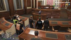 Court in progress