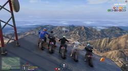 Dirt Bikes on Mt Chiliad