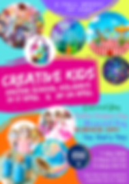 creative kids january school holidays sa
