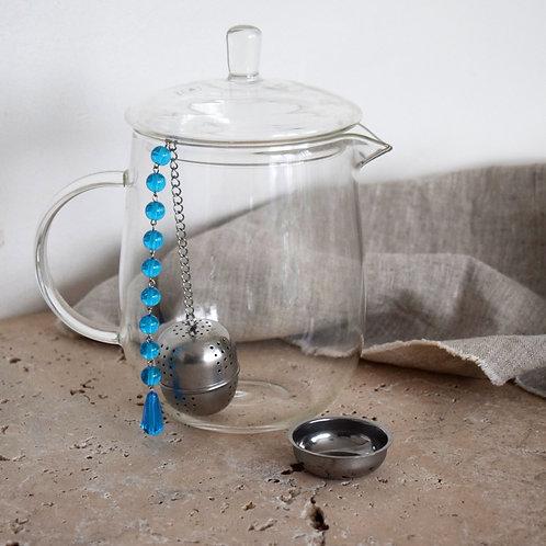 Boule à thé Turquoise Chakra communication Vishudda