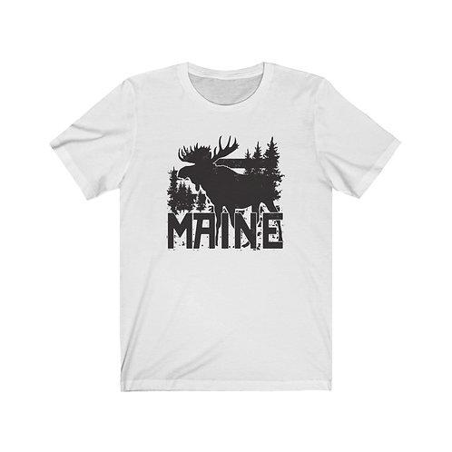 Maine Moose Unisex Jersey Tee