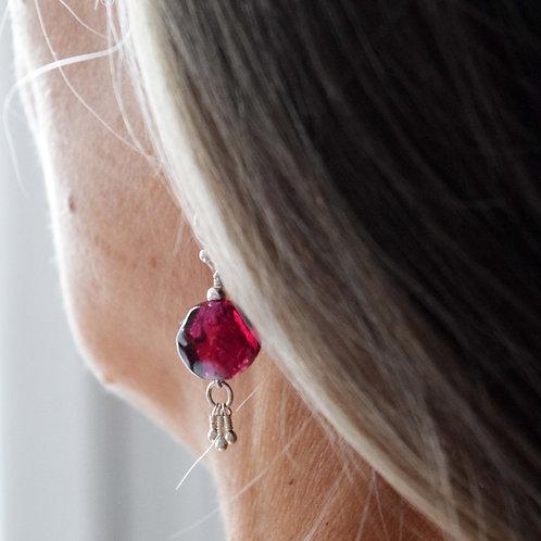 Bijou Rituel B.O [air] Perles de verre et Argent 925