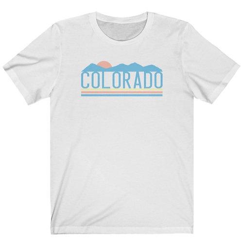 Colorado Retro Unisex Jersey Short Sleeve Tee
