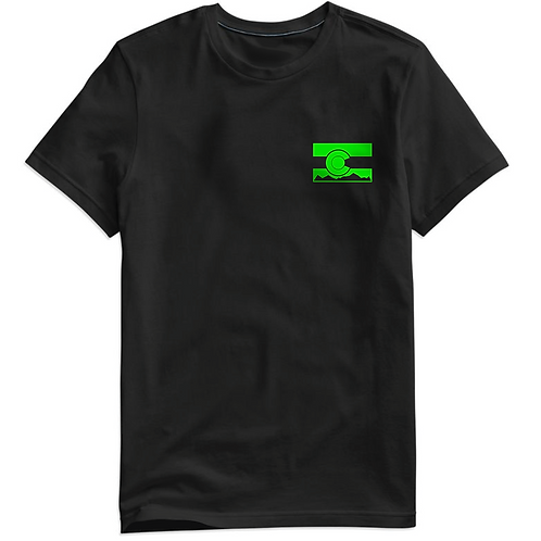 Colorado Green Flag Unisex Jersey Short Sleeve Tee