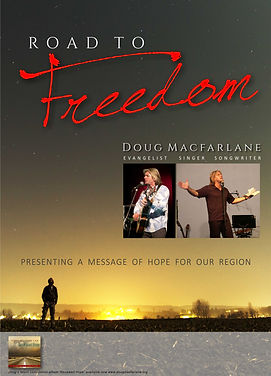 doug macfarlane, christian evangelist and musician, singe songwriter travels Australia sharing the Gospel message through Churches and other events