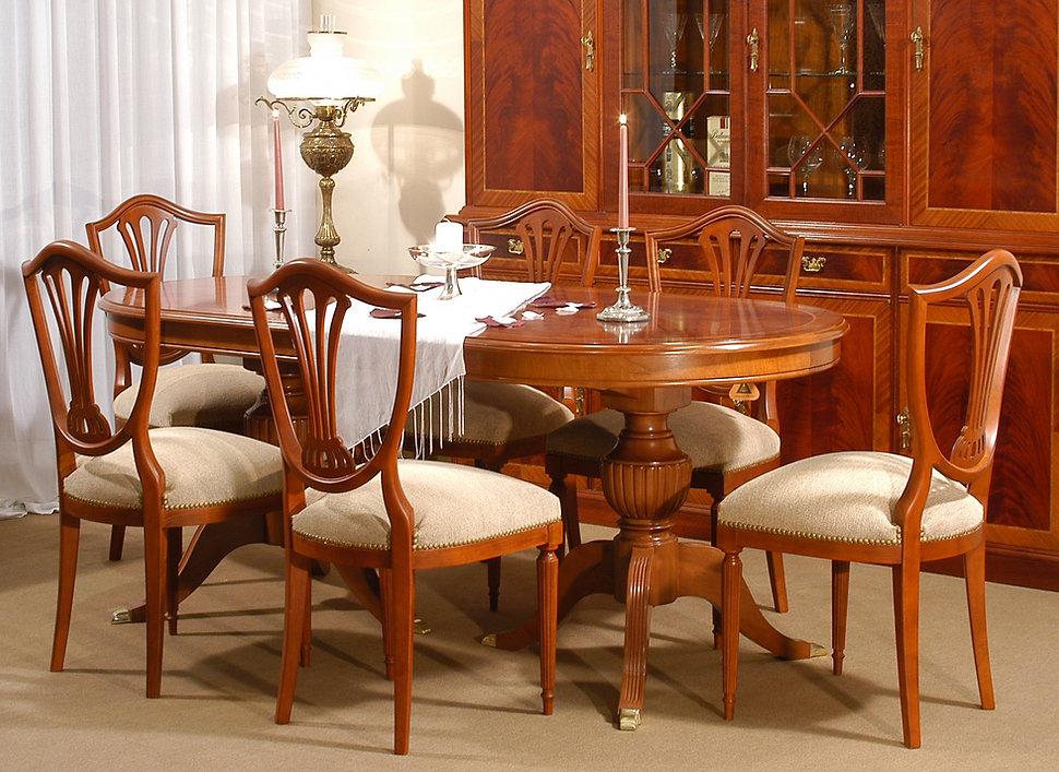 Comedor Ingles Oval, Antequera Muebles