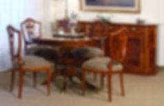 Comedor Ingles redondo, Antequera Muebles