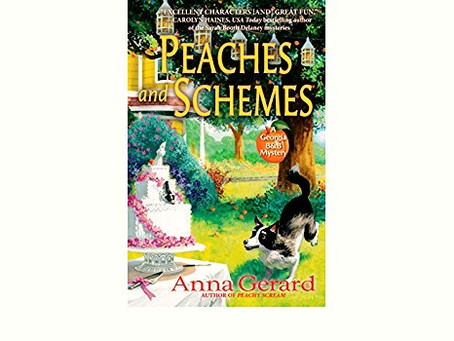 """Book Review:                                                    """"Peaches and Schemes"""" by Anna Gerard"""