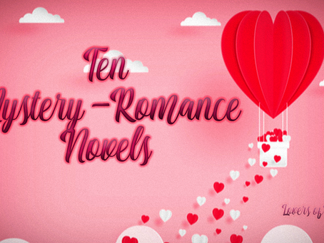 10 Mystery-Romance Novels to Read for V-Day