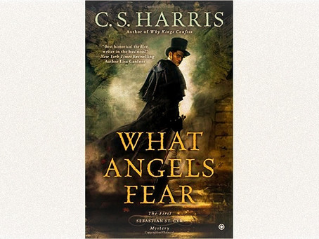 Book Review: What Angels Fear by C.S. Harris