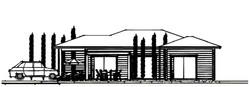 Maison ossature bois 3D