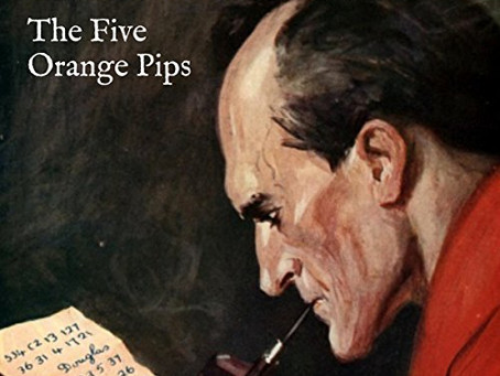 Classic Short Story Mystery:  The Five Orange Pips