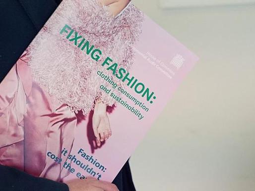 Fixing fashion: Clothing Consumption and Sustainability