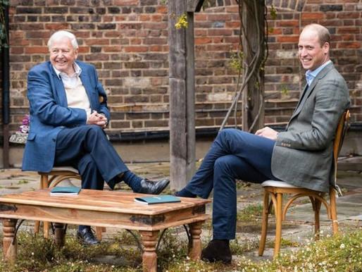 Prince William and Sir David Attenborough Launch 'Green Nobel'