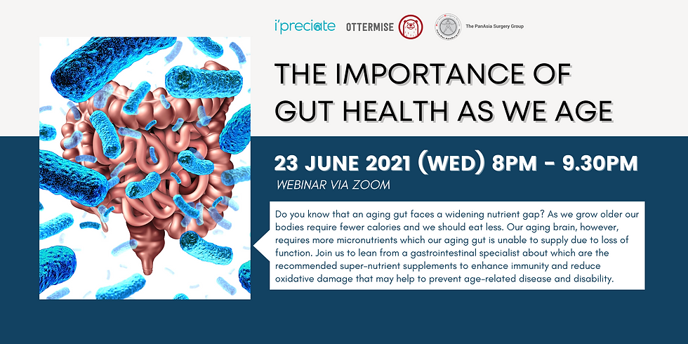 The Importance of Gut Health as we Age