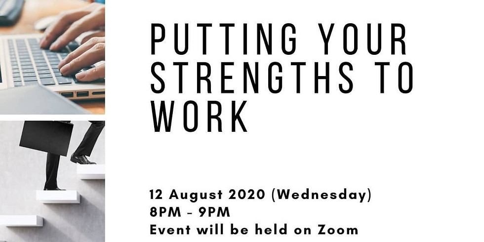 Maximising your Strengths at work