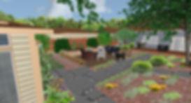 3D landscape simulation