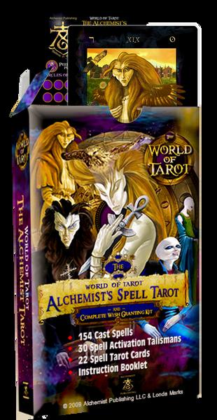 The Alchemist Spell Tarot