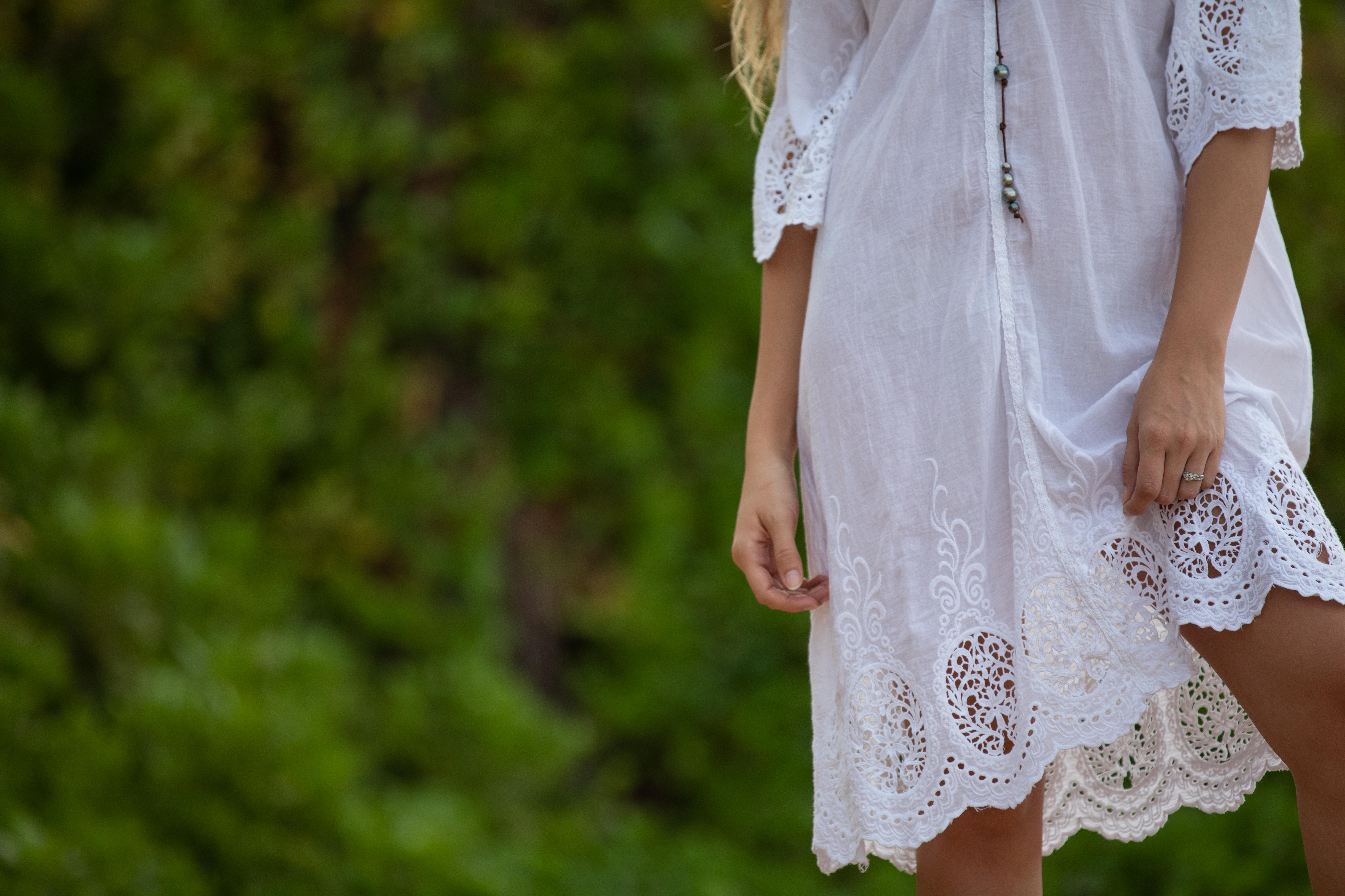 Ursula Dress Lace Detail