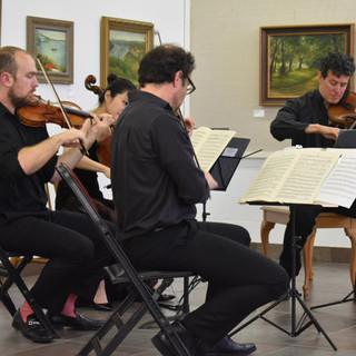 Euclid Quartet performing Beethoven String Quartet